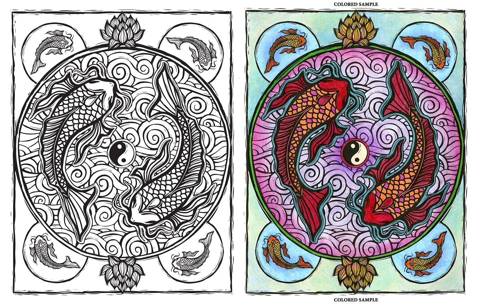 Mystism coloring #8, Download drawings