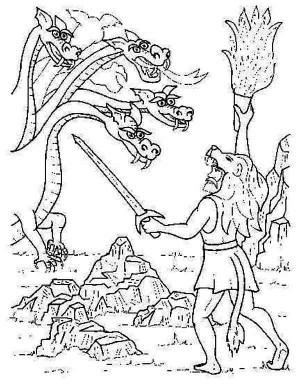 Myth coloring #1, Download drawings