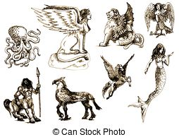 Mythical clipart #9, Download drawings