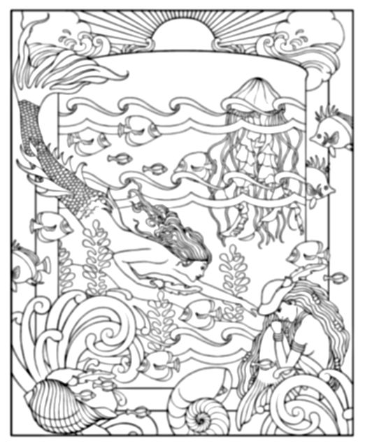 mythical coloring pages for adults - mythical coloring download mythical coloring