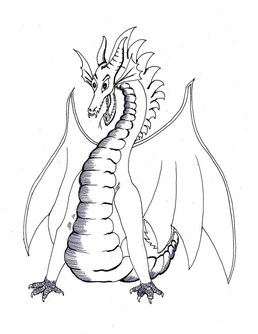Naga coloring #13, Download drawings