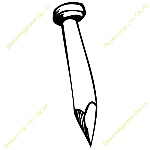 Nail clipart #9, Download drawings
