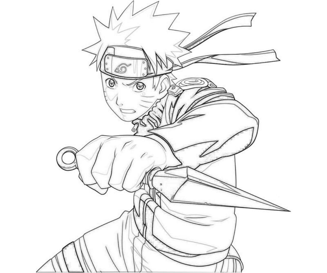 Naruto coloring #9, Download drawings