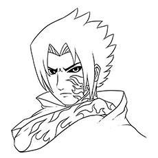 Sasuke Uchiha coloring #16, Download drawings