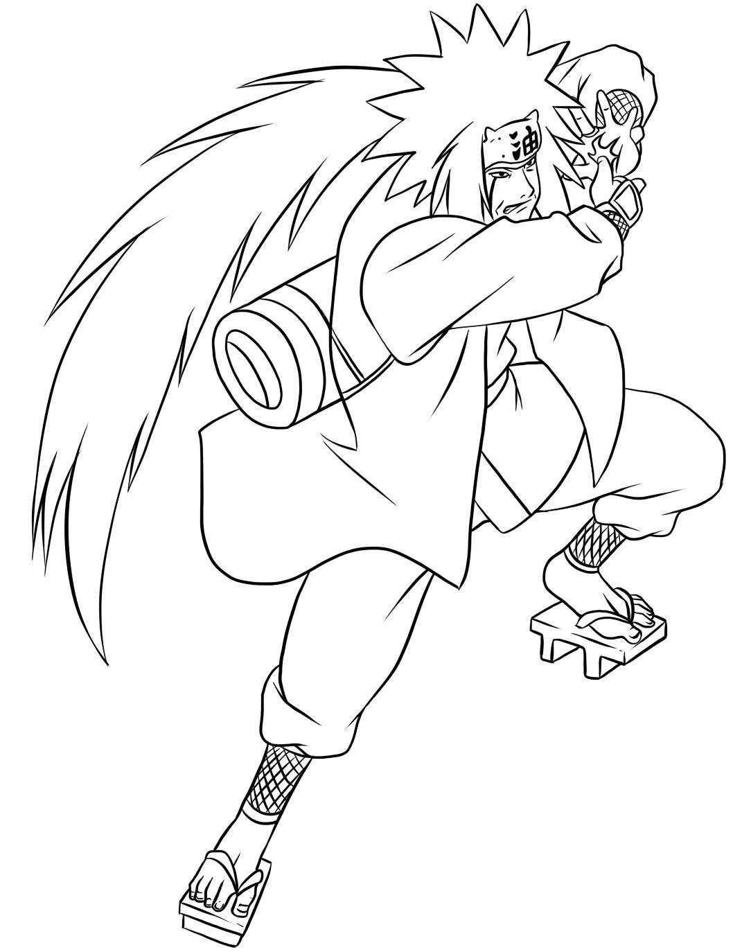 Naruto coloring #1, Download drawings