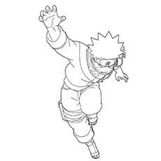Naruto coloring #4, Download drawings