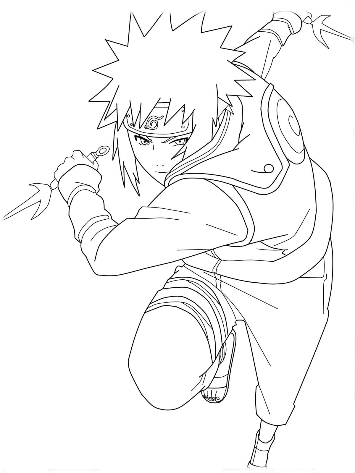 Naruto coloring #18, Download drawings