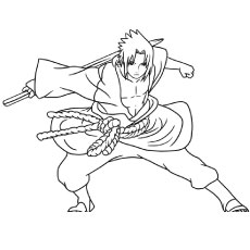 Naruto coloring #10, Download drawings