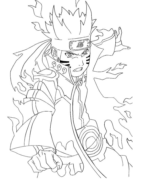 Naruto coloring #15, Download drawings