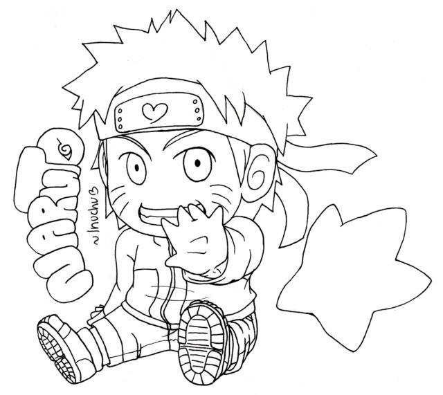 Naruto coloring #2, Download drawings