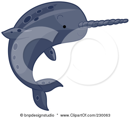 Narwhal clipart #14, Download drawings