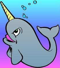 Narwhal clipart #19, Download drawings