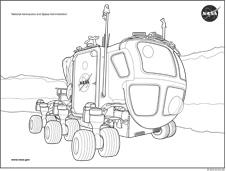 NASA coloring #14, Download drawings