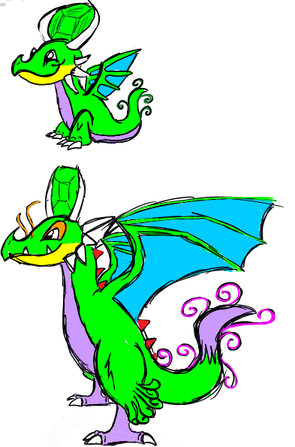 Nate Dragon clipart #3, Download drawings