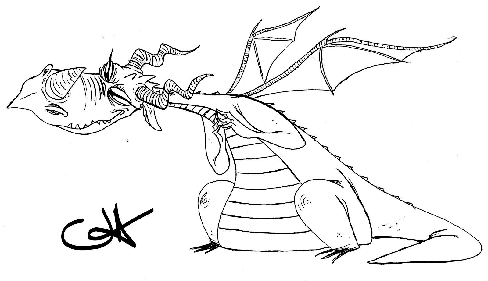 Nate Dragon coloring #15, Download drawings