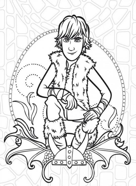 Nate Dragon coloring #8, Download drawings