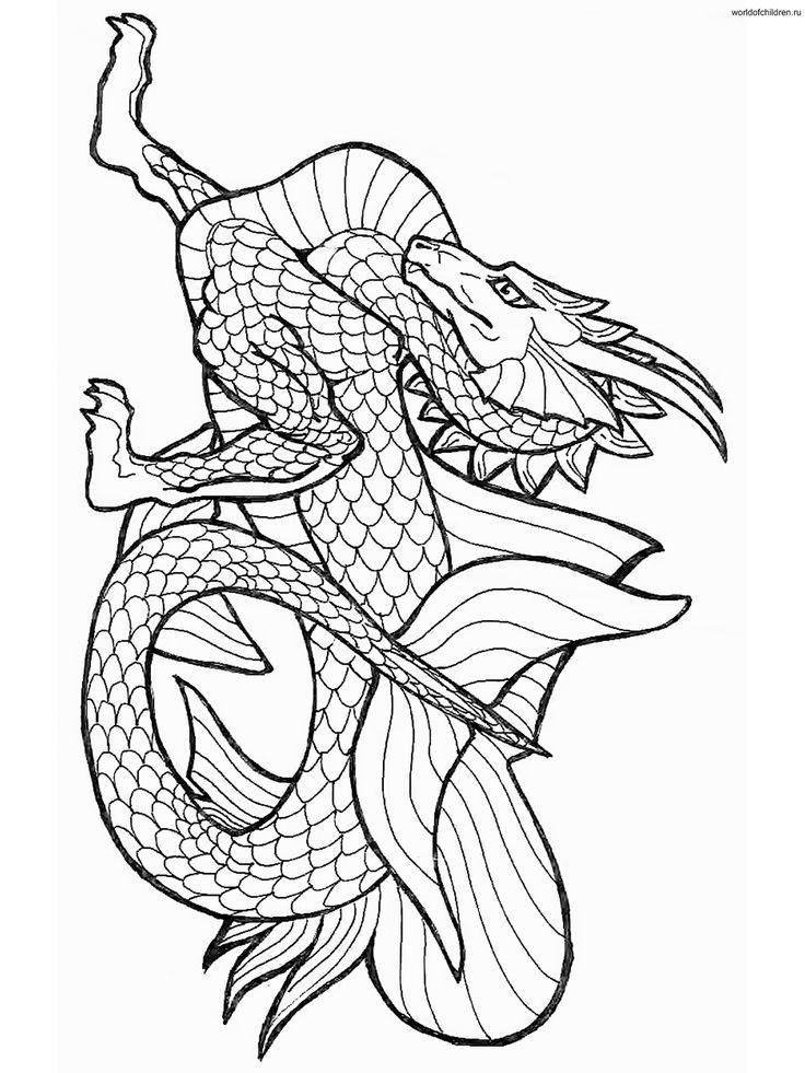 Nate Dragon coloring #3, Download drawings