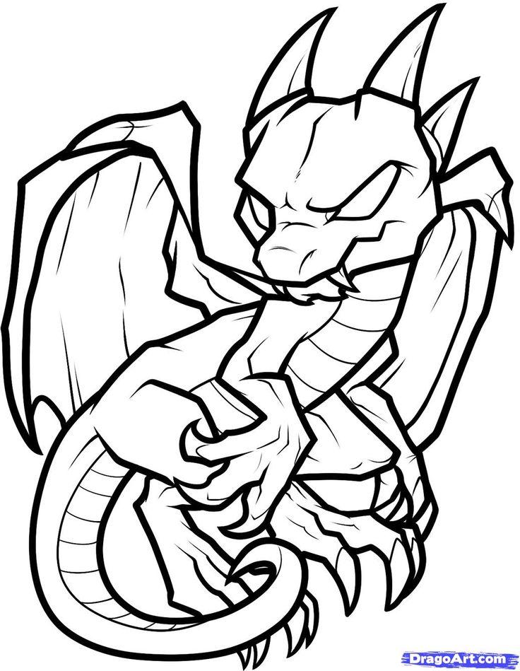 Nate Dragon coloring #19, Download drawings