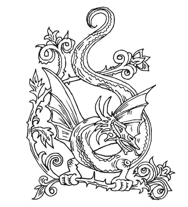 Nate Dragon coloring #11, Download drawings