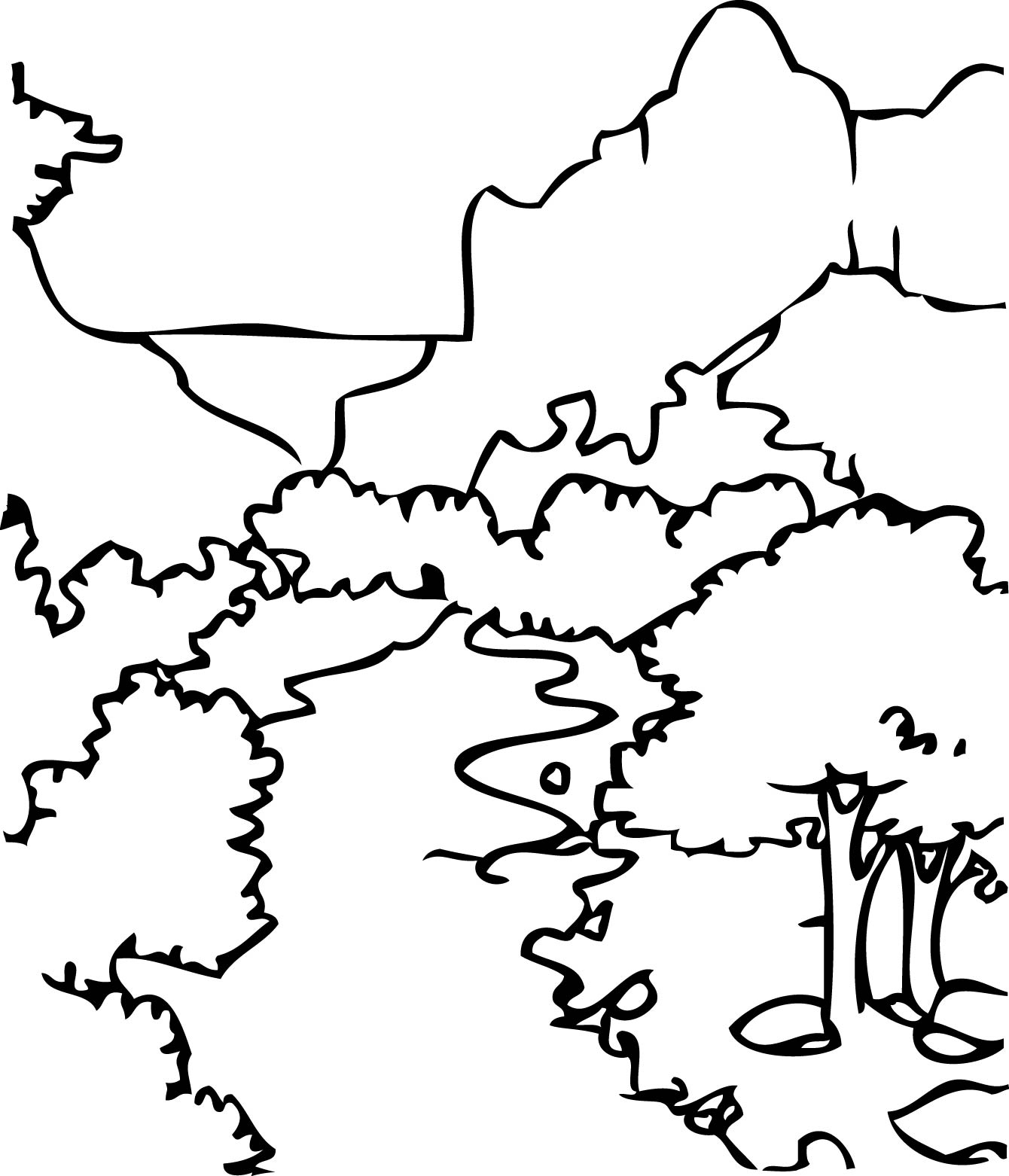 National Park coloring #3, Download drawings