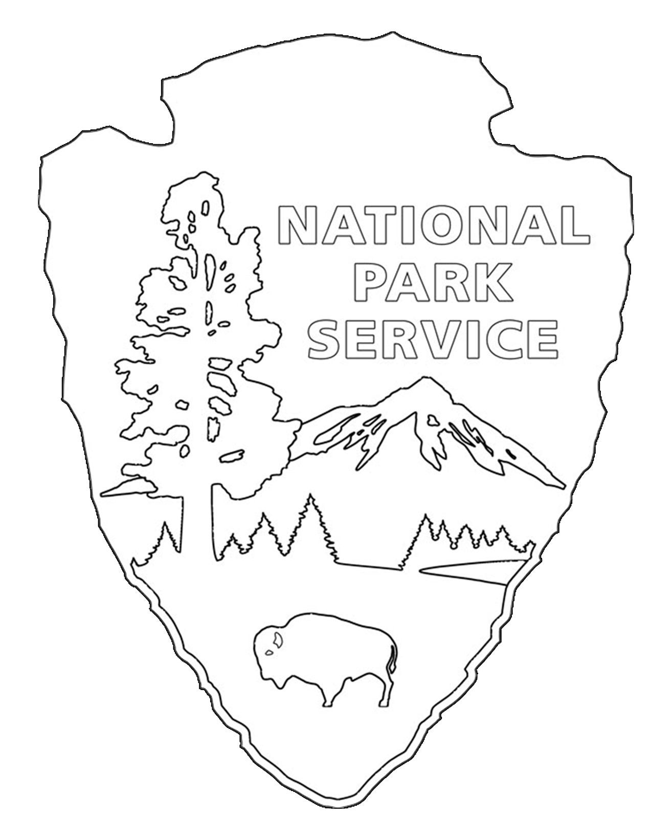 National Park coloring #12, Download drawings