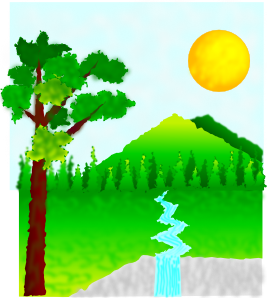 Nature clipart #1, Download drawings