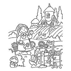 Natur coloring #14, Download drawings
