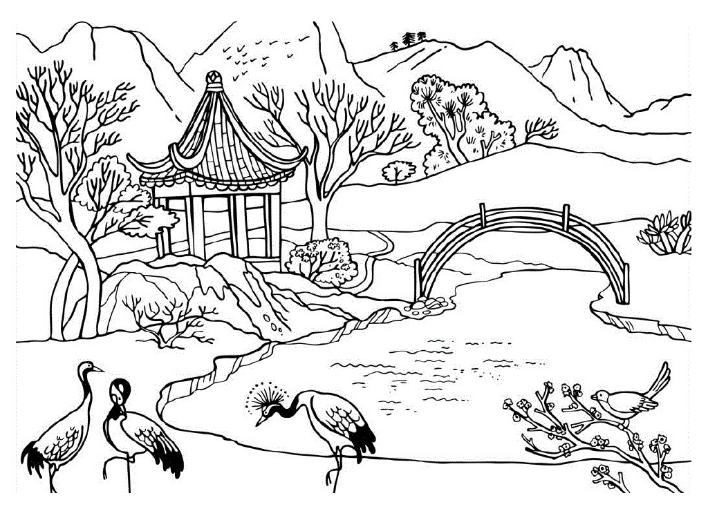Natur coloring #18, Download drawings