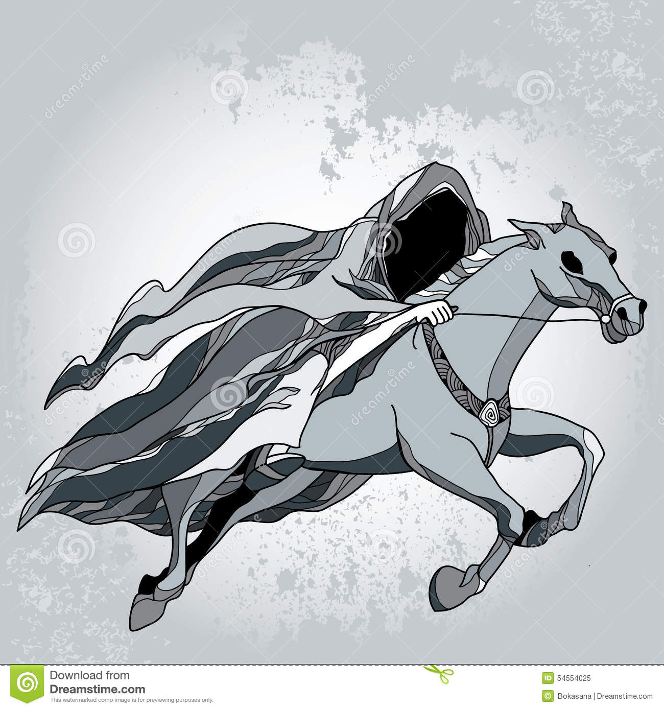 Nazgul clipart #1, Download drawings