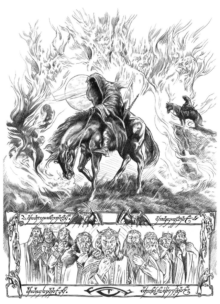 Nazgul clipart #14, Download drawings