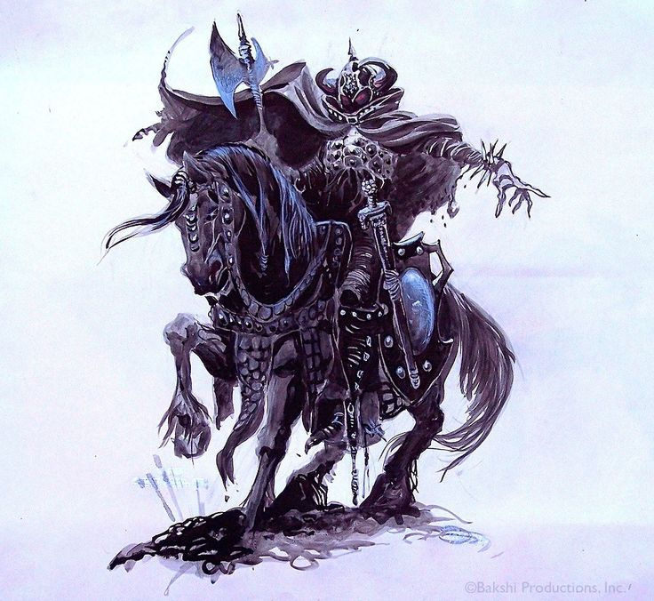 Nazgul clipart #2, Download drawings