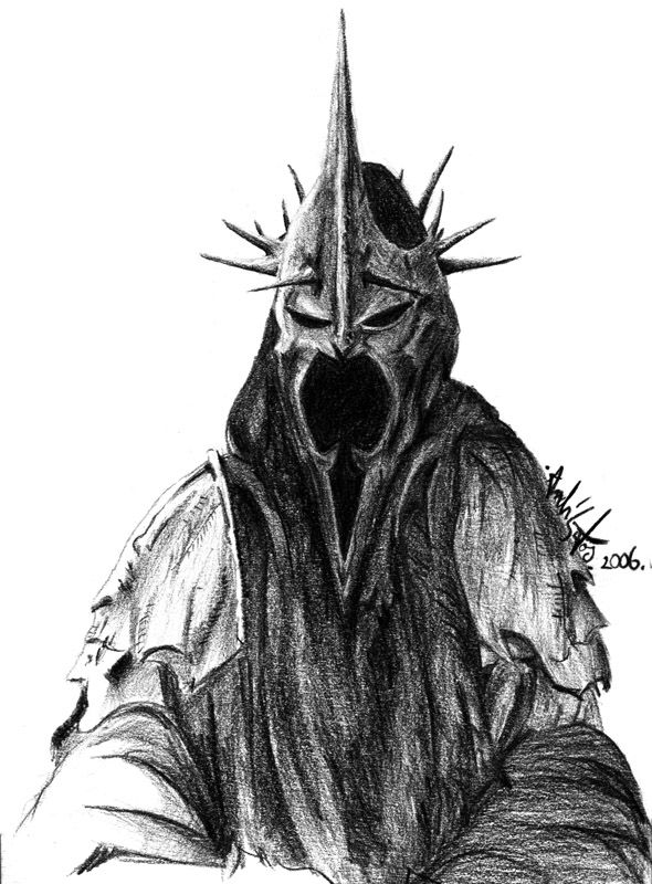 Nazgul coloring #1, Download drawings