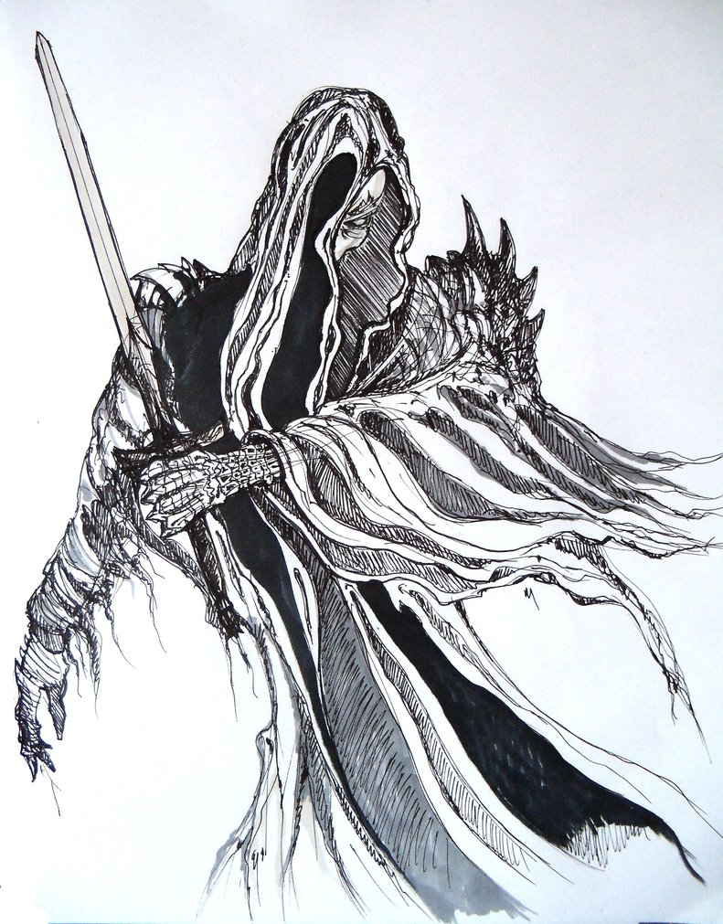Nazgul coloring #17, Download drawings