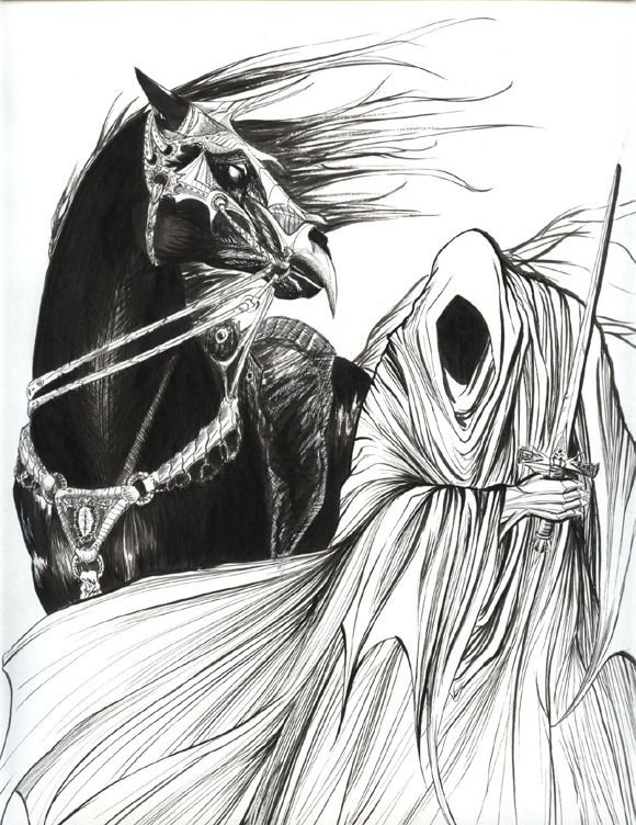 Nazgul coloring #10, Download drawings
