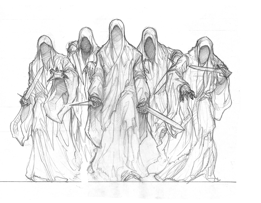 Nazgul coloring #12, Download drawings