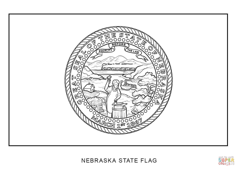 Nebraska coloring #5, Download drawings