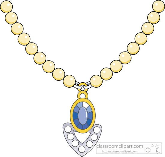 Necklace clipart #3, Download drawings