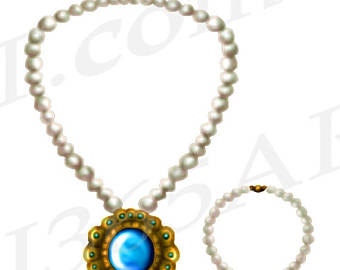 Necklace clipart #14, Download drawings