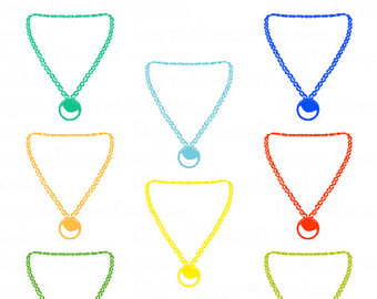 Necklace clipart #10, Download drawings