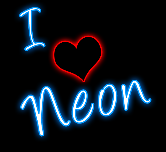 Neon clipart #4, Download drawings