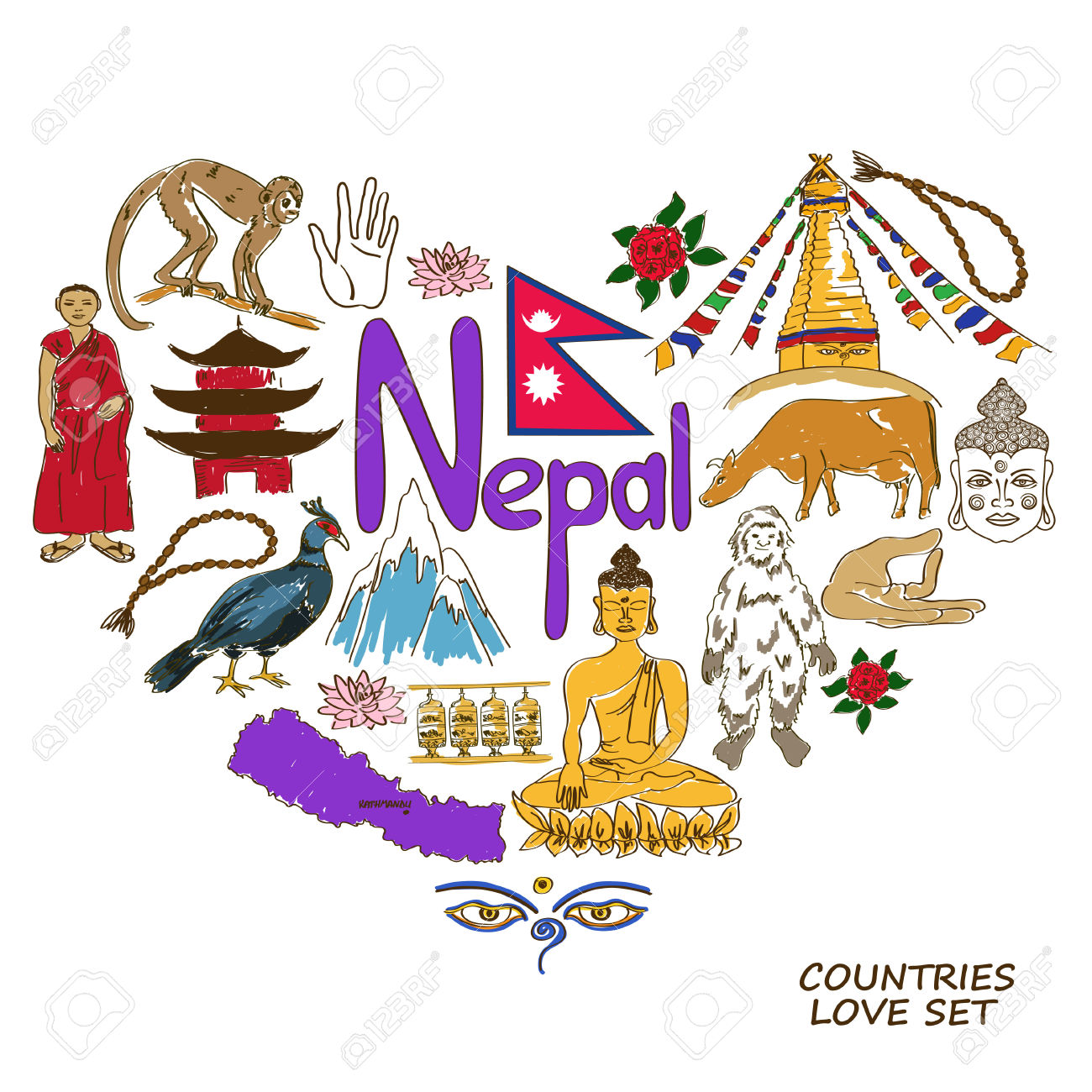 Nepal clipart #9, Download drawings