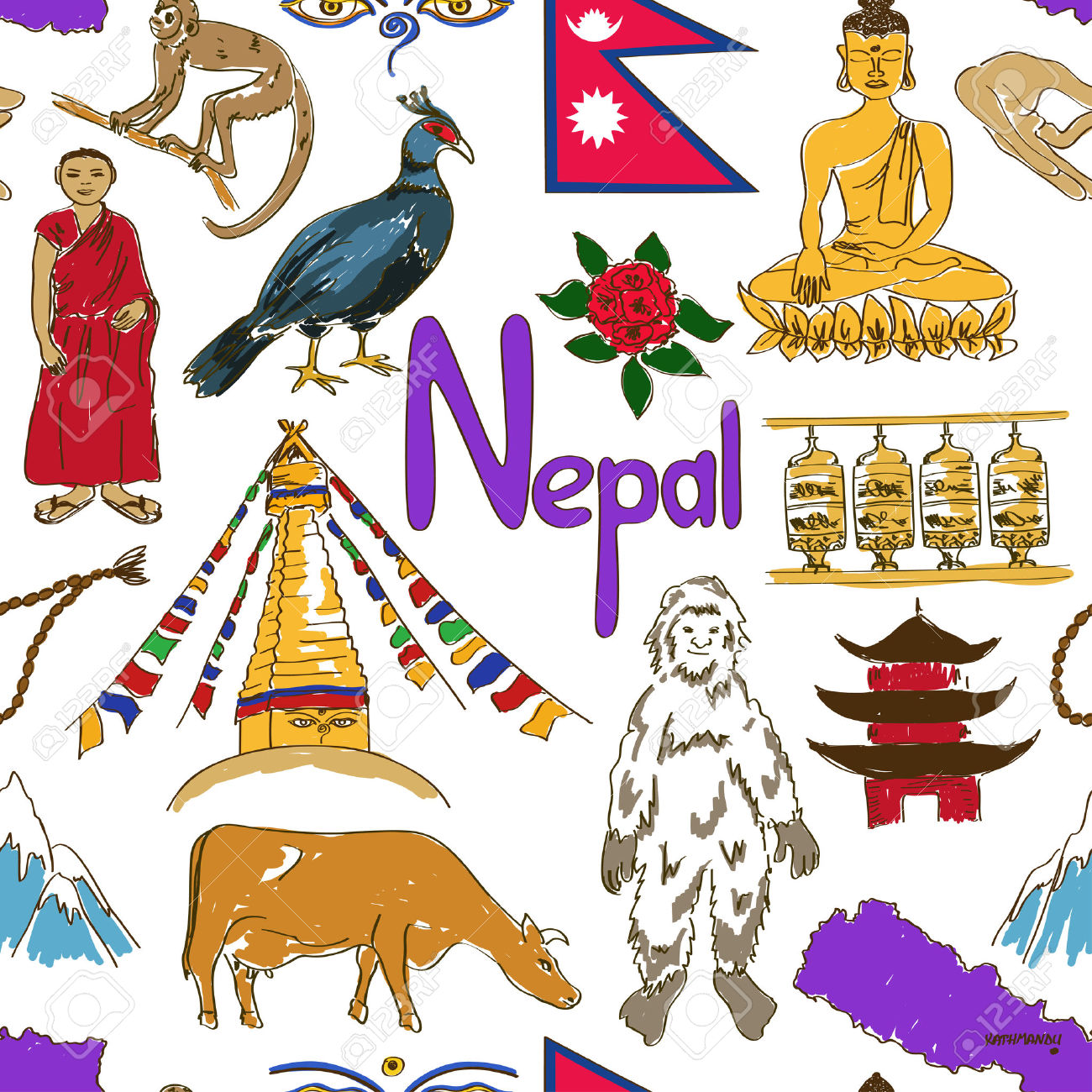 Nepal clipart #11, Download drawings
