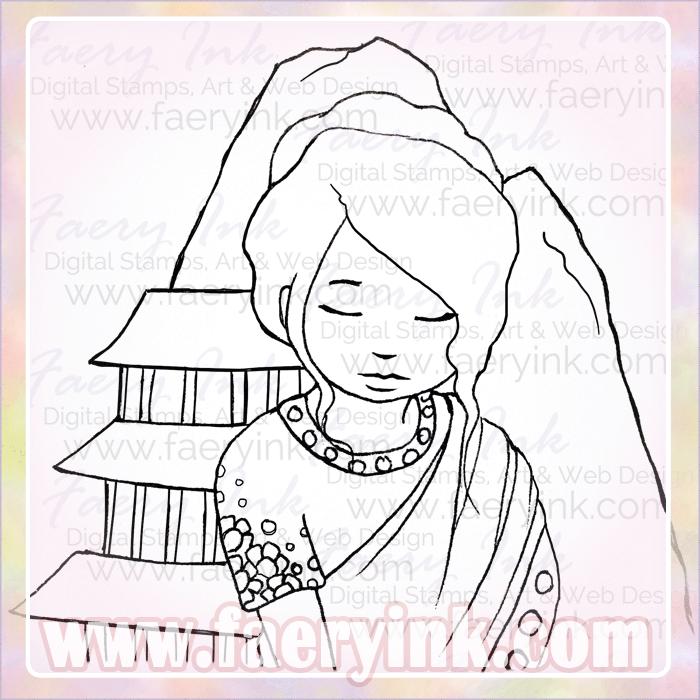 Nepal coloring #18, Download drawings