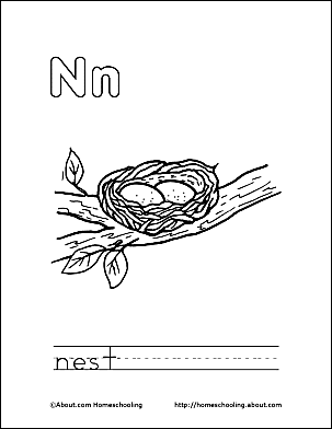 Nest coloring #13, Download drawings