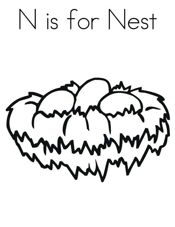 Nest coloring #6, Download drawings