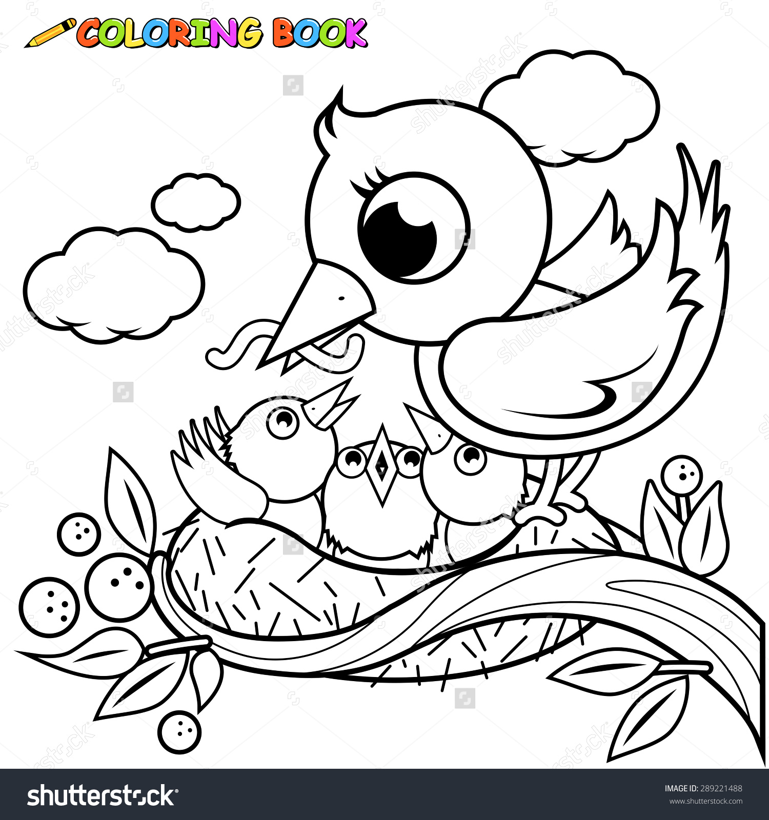 Nest White coloring #9, Download drawings