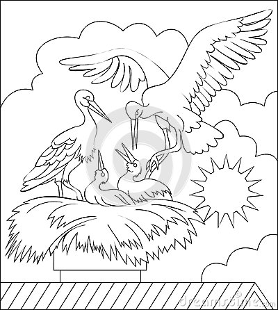 Nest White coloring #10, Download drawings