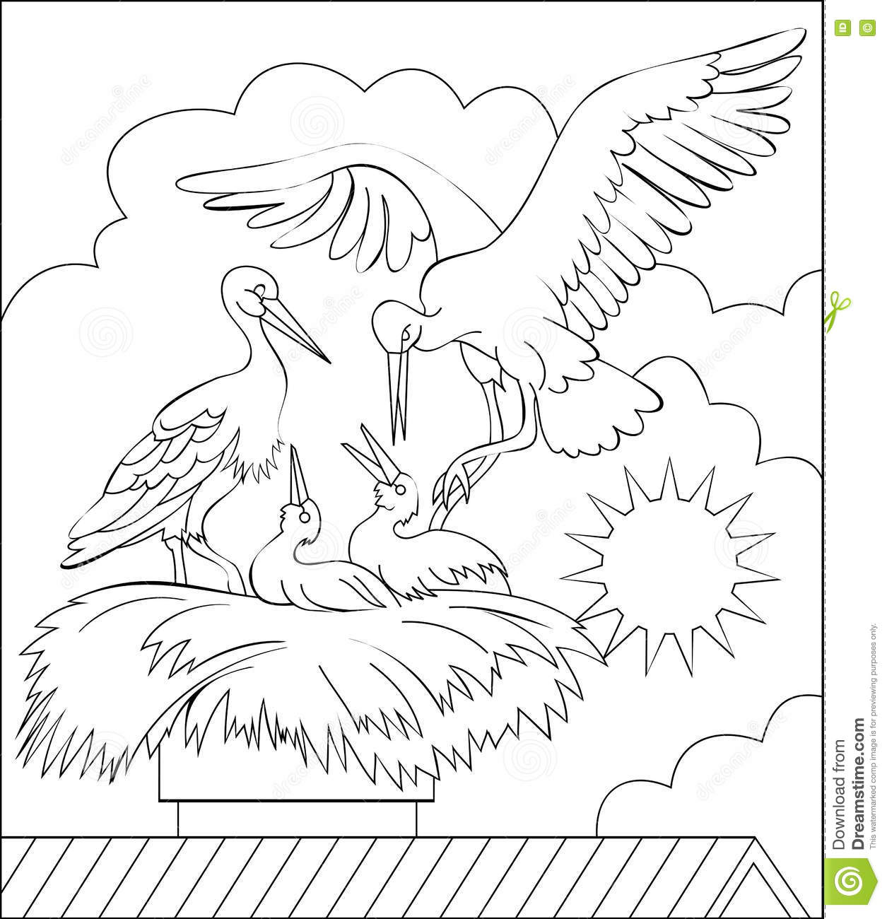 Nest White coloring #15, Download drawings
