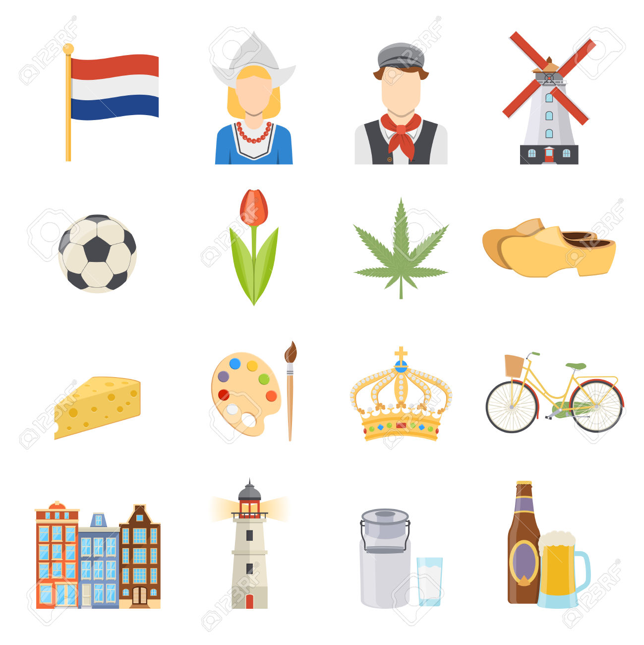 The Netherlands clipart #6, Download drawings