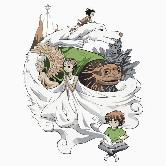 Neverending Story clipart #1, Download drawings